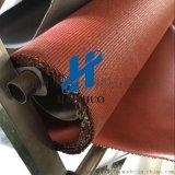 硅胶玻纤布 电焊专用软连接防火布 阻燃硅胶布