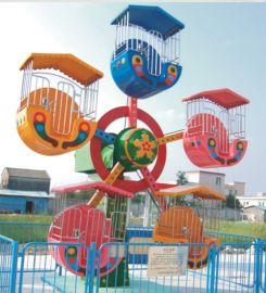 直销理光牌公园广场游乐场儿童观览车 迷你摩天轮游乐设备 迷你观览车