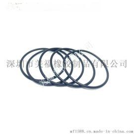 广东密封圈厂家企业提供不含有害物质橡胶圈 环保耐温硅胶胶圈 绝缘防火