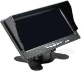 7寸車載四分割液晶顯示器錄像一體高清顯示屏