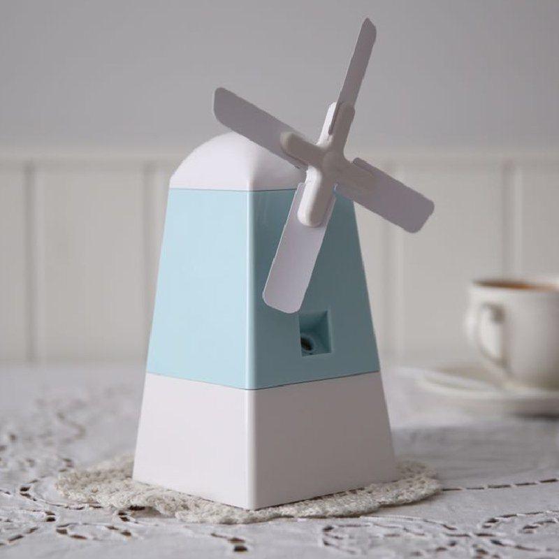 厂家批发usb桌面风车创意加湿器 小风扇空气加湿器