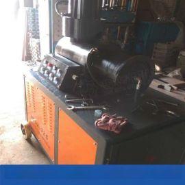 钢筋镦粗机视频 青海海西直螺纹钢筋连接套筒