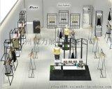 女装店装修设计 简约展示柜服装店展示架