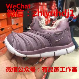 供应原厂Nike耐克毛毛虫运动童鞋实体店货源