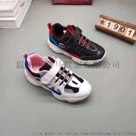 福建泉州巴布豆童鞋网层布面运动鞋儿童休闲鞋子小熊鞋
