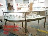 不锈钢木质烤漆展示柜 深圳信达展示柜 博物馆展示柜
