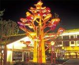 户外广场景观灯大型造型灯 不锈钢中式公园灯标志灯