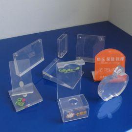 郑州亚克力定制多种颜色造型有机玻璃展架 桌牌 台卡 展示牌 亚克力台牌