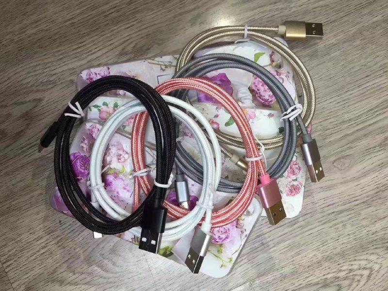 铝合金安卓编织布数据线