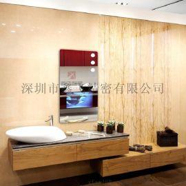 智能镜面魔镜 卫生间厕所欧式椭圆形/方形浴室镜