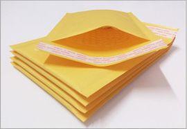 礼品珠宝首饰女饰品吊坠项链包装快递袋 牛皮纸气泡袋 厂家定做印刷袋