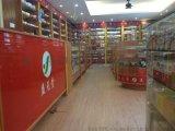 福建药店展示柜定做,药店展示架,药店玻璃柜。