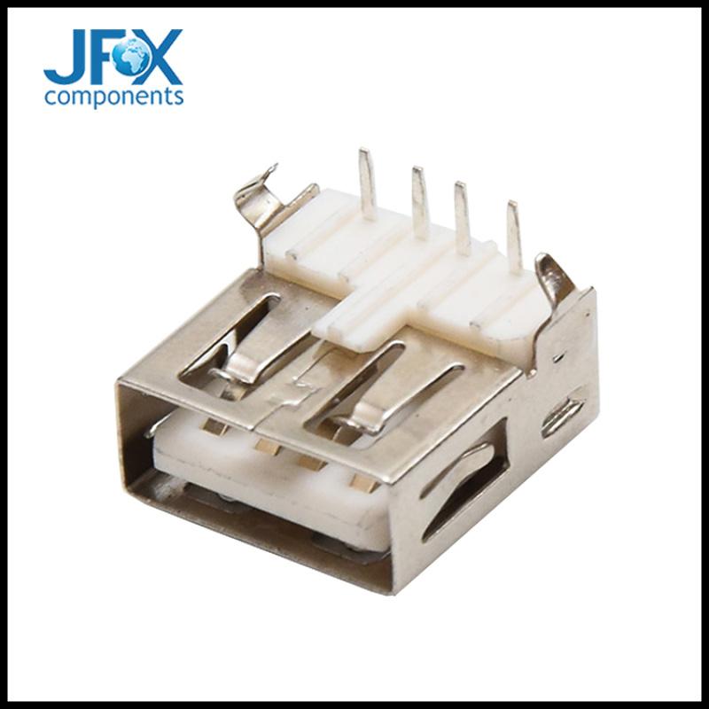 手机尾充电插口USB数据接口 4PUSB座子