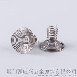 不锈钢304精密电子板单插脚弹簧