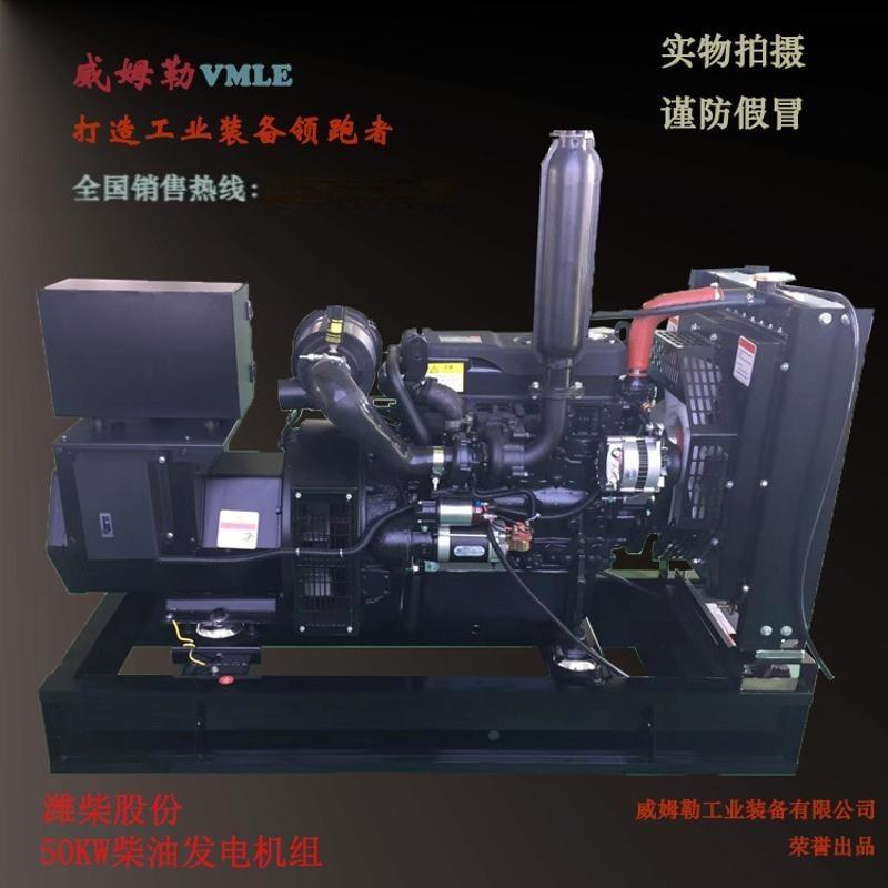 濰柴柴油發電機組 50KW柴油發電機組 無刷發電機