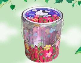 马口铁盒,铁罐,PVC铁桶,PVC手挽罐