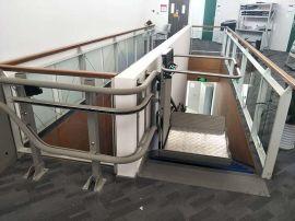 商丘市 樑園區啓運供應輪椅電梯 樓道爬升機