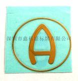 深圳厂家直供超薄电铸金属标贴,镍箔字,纯镍金属商标,金属分体标LOGO