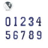 布貼小尺寸徽章 數位1-9定做電腦繡花標刺繡標
