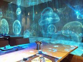 餐厅投影 投影主题餐厅 创意餐厅