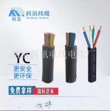 YC4*70橡套电缆YC3*4橡套线缆