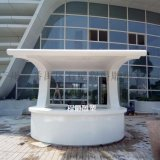 广州程爵雕塑高档大型玻璃钢吧台
