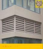 河北厂家铝合金百叶窗 空调外机防护百叶窗