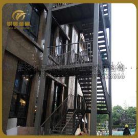 供应消防楼梯金属楼梯不锈钢楼梯发光楼梯工程楼梯