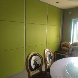 酒店宴会厅活动隔断墙移动隔断展板折叠门包间隔音墙