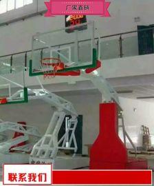 移动篮球架安装价 健身广场篮球架厂家