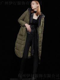 折扣女装羽绒服摩多伽格  摩多伽格18冬品牌折扣货源