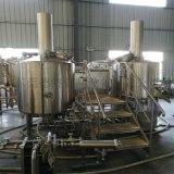 500升三器精酿啤酒糖化设备