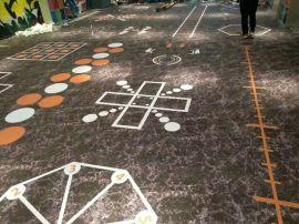 定制私教工作室地垫室内功能性塑胶运动地板