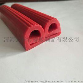 广州耐高温烤箱e形硅胶密封条