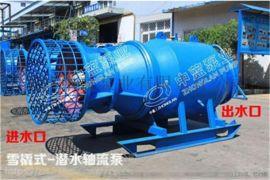 高效低能耗QZB雪橇式轴流泵技术指导