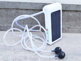 太阳能增氧泵免插电打氧泵冲氧泵