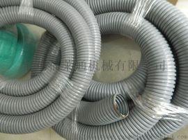 福萊通單扣鍍鋅包塑金屬軟管 浸塑軟管