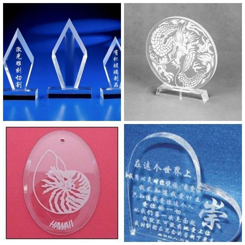 二氧化碳激光雕刻机 30W有机玻璃镭射机