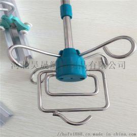 输液吊杆 天轨输液架  不锈钢双杆伸缩输液吊杆