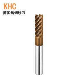 高速高硬度侧铣6刃铣刀 HRC65度涂层钨钢铣刀