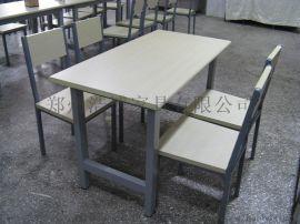 郑州久诺餐厅桌椅专业定制学校家具,一线生产厂家!