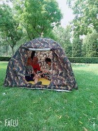 户外野营充气帐篷超轻免搭建全家旅游携带方便