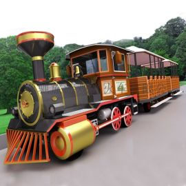旅游景区电动观光小火车项目