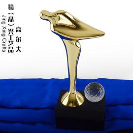 运动奖杯定做 合金水晶奖杯奖牌 厂家直销