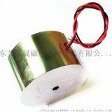 防水灌胶直流吸盘式起重电磁铁24V吸力100公斤