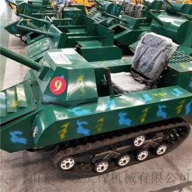 履带式全地形坦克车景区游乐坦克车