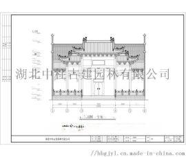 廣東古建祠堂、仿古四合院設計、廣東古建牌坊設計施工