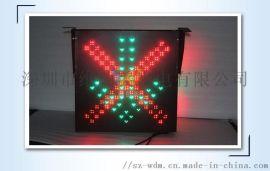 LED红叉绿箭通行灯 红叉绿箭雨棚灯 顶棚信号灯
