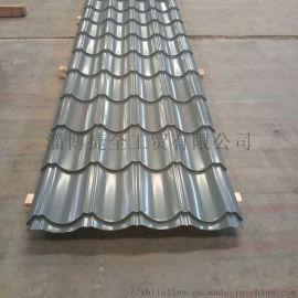 彩鋼琉璃瓦 仿古瓦廠家生產
