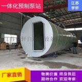 上海一体化预制污水提升泵站